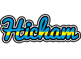 Hicham sweden logo