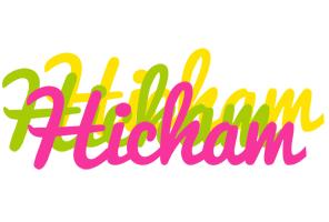 Hicham sweets logo