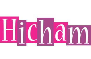 Hicham whine logo
