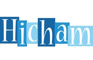 Hicham winter logo