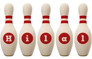 Hilal bowling-pin logo