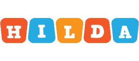 Hilda comics logo