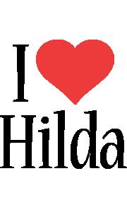 Hilda i-love logo