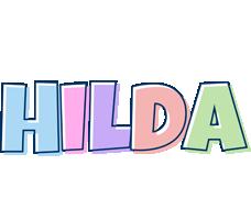 Hilda pastel logo