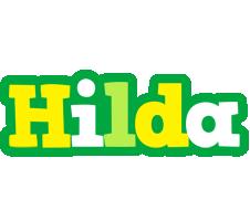 Hilda soccer logo