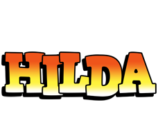 Hilda sunset logo
