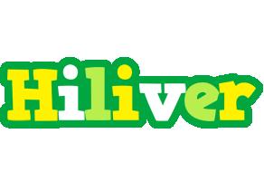 Hiliver soccer logo