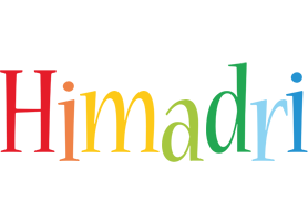 Himadri birthday logo