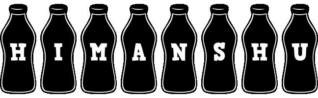 Himanshu bottle logo