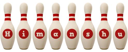 Himanshu bowling-pin logo