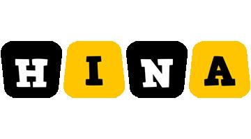 Hina boots logo