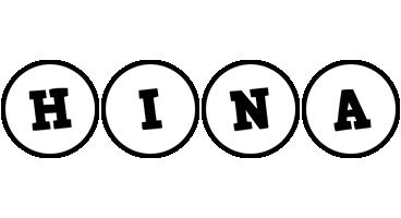 Hina handy logo