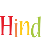 Hind birthday logo