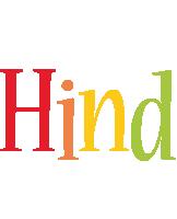 Hind birthday logo