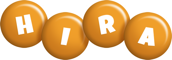 Hira candy-orange logo