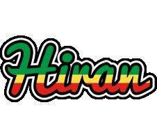 Hiran african logo