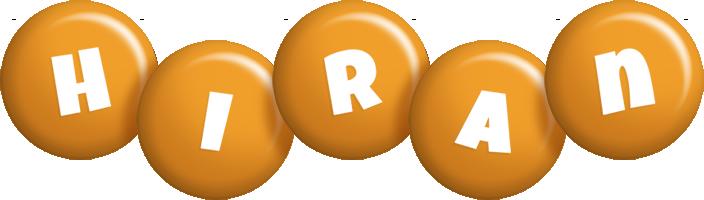 Hiran candy-orange logo