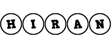 Hiran handy logo