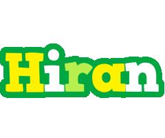 Hiran soccer logo