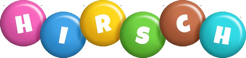 Hirsch candy logo