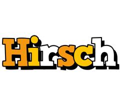 Hirsch cartoon logo