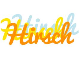 Hirsch energy logo