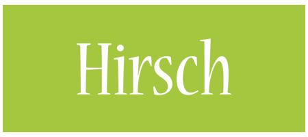 Hirsch family logo