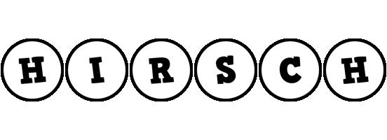 Hirsch handy logo