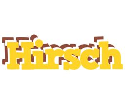 Hirsch hotcup logo