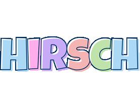 Hirsch pastel logo