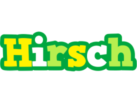 Hirsch soccer logo