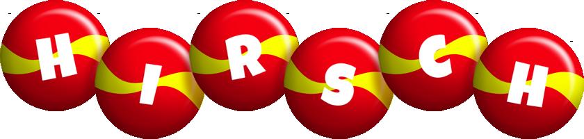 Hirsch spain logo