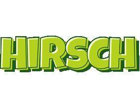 Hirsch summer logo