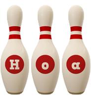Hoa bowling-pin logo