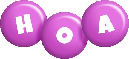 Hoa candy-purple logo