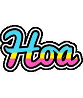 Hoa circus logo