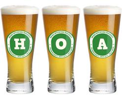 Hoa lager logo