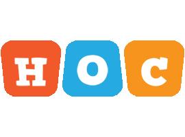 Hoc comics logo