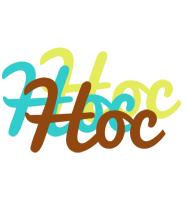 Hoc cupcake logo