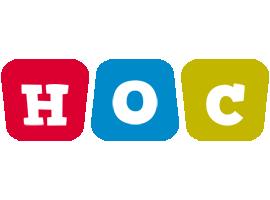 Hoc daycare logo