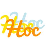 Hoc energy logo