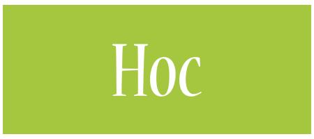Hoc family logo