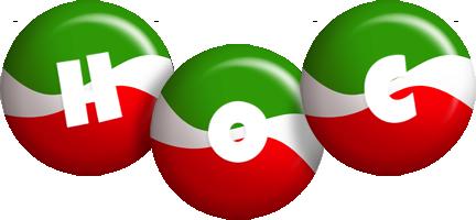 Hoc italy logo