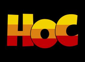 Hoc jungle logo