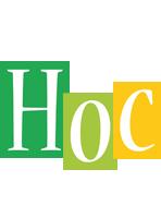 Hoc lemonade logo