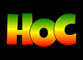 Hoc mango logo