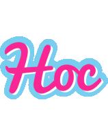 Hoc popstar logo
