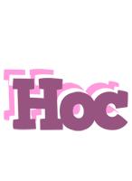 Hoc relaxing logo