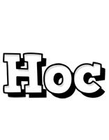 Hoc snowing logo