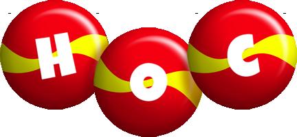 Hoc spain logo